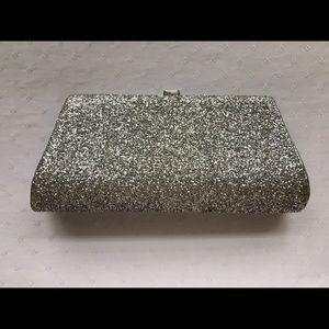 Handbags - Vintage 1960s glitter-sparkled clutch